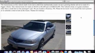 Craigslist Grand Island Nebraska Used Cars - Acura CL Under $5000 Available in 2012
