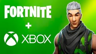 Fortnite-EXCLUSIVE SKIN and CROSS-PLATAFORM ON XBOX ONE