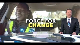 Nine News. Black Africans Special Access To Police Careers.(Victoria)(Australia)