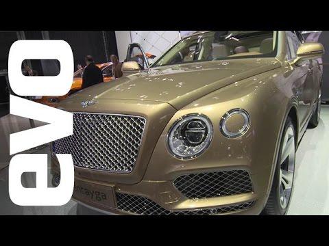 Bentley Bentayga at Frankfurt   evo MOTOR SHOWS