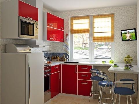 Дизайн кухни в хрущевке 6 кв. м.