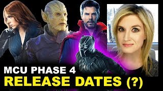 MCU Phase 4 Movies - Black Panther 2, Black Widow, Avengers Secret Invasion