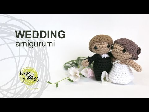 Amigurumi pattern Chinese Wedding 2 Crochet Amigurumi doll | Etsy | 360x480
