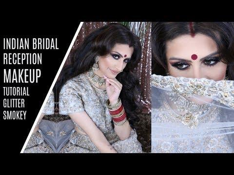 INDIAN WEDDING EVENING RECEPTION MAKEUP TUTORIAL! | 12 Days of Wedding Bells Day 10 |  Gurp Dhaliwal