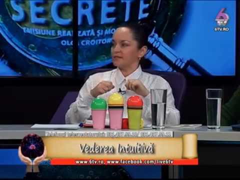 """Vedere Intuitiva la Emisiunea """"Puterile secrete"""" pe 6TV"""