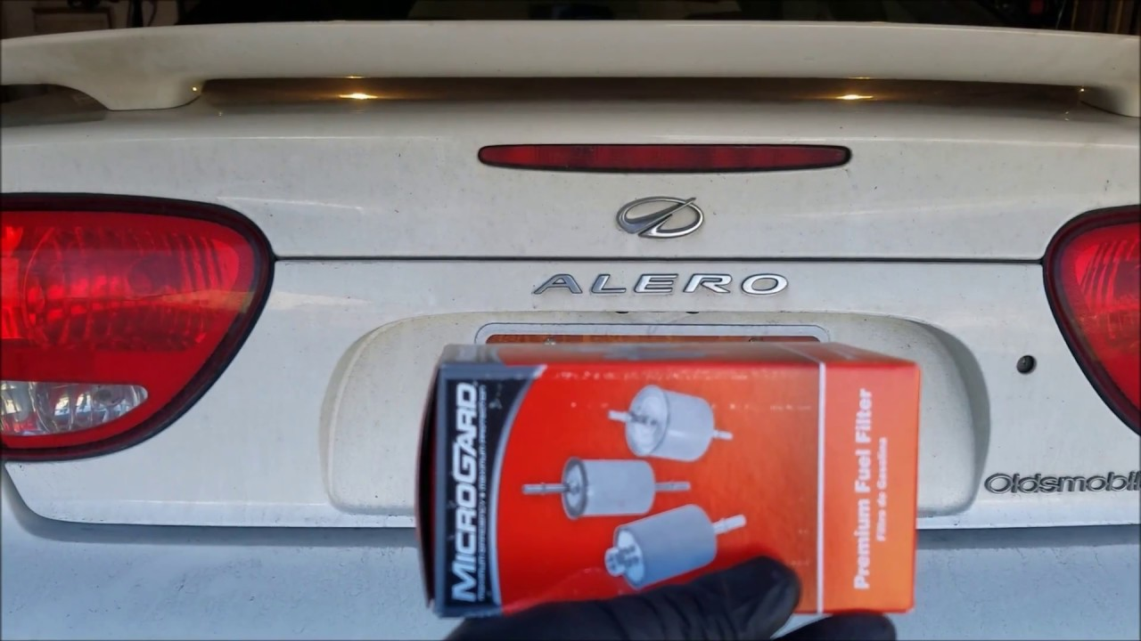2004 oldmobile alero pontiac grandam fuel filter change [ 1280 x 720 Pixel ]