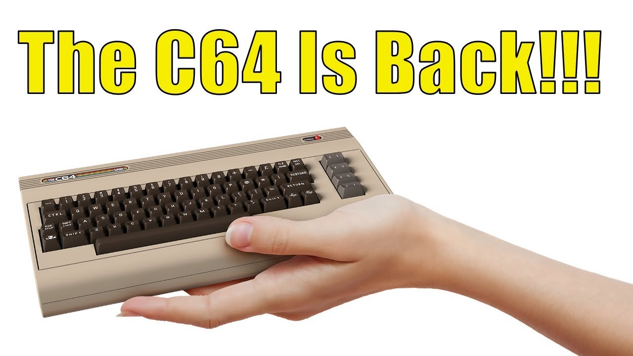 TheC64 Mini REVIEW! The Commodore 64 Is Back and Still Super Awesome!