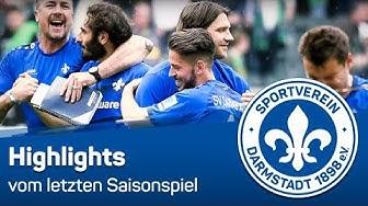 Darmstadt 98 | Highlights vom Gladbach-Spiel