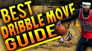 NBA 2K16 Tips: Best DRIBBLE MOVE Guide - BEST Money Dribble Moves in MyPark/Pro-Am!