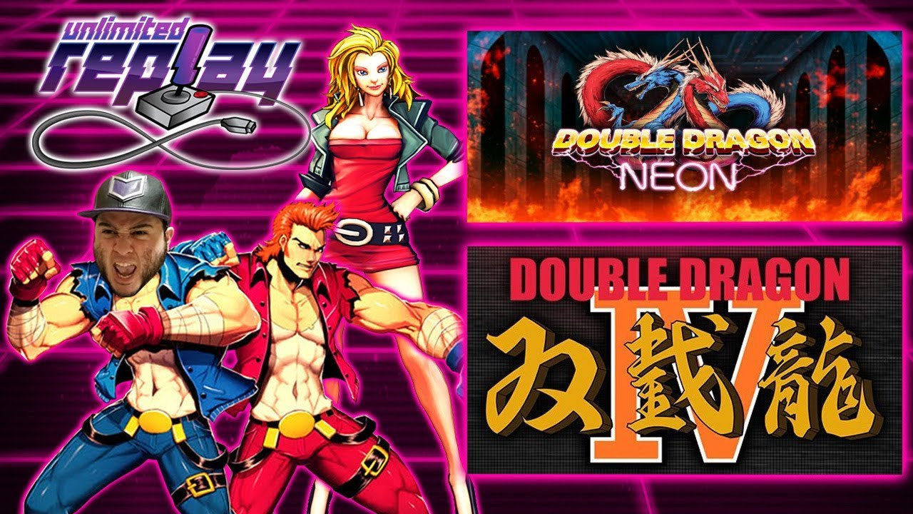 Double Dragon Neon Double Dragon Iv Live Stream Unlimited