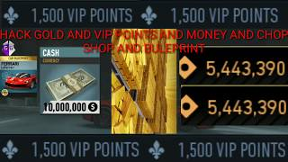 NEED FOR SPEED NO LIMIT HACK UNLIMITED MONEY AND GOLD AND VIP POINT AND CHOP SHOP AND BLUEPRINT