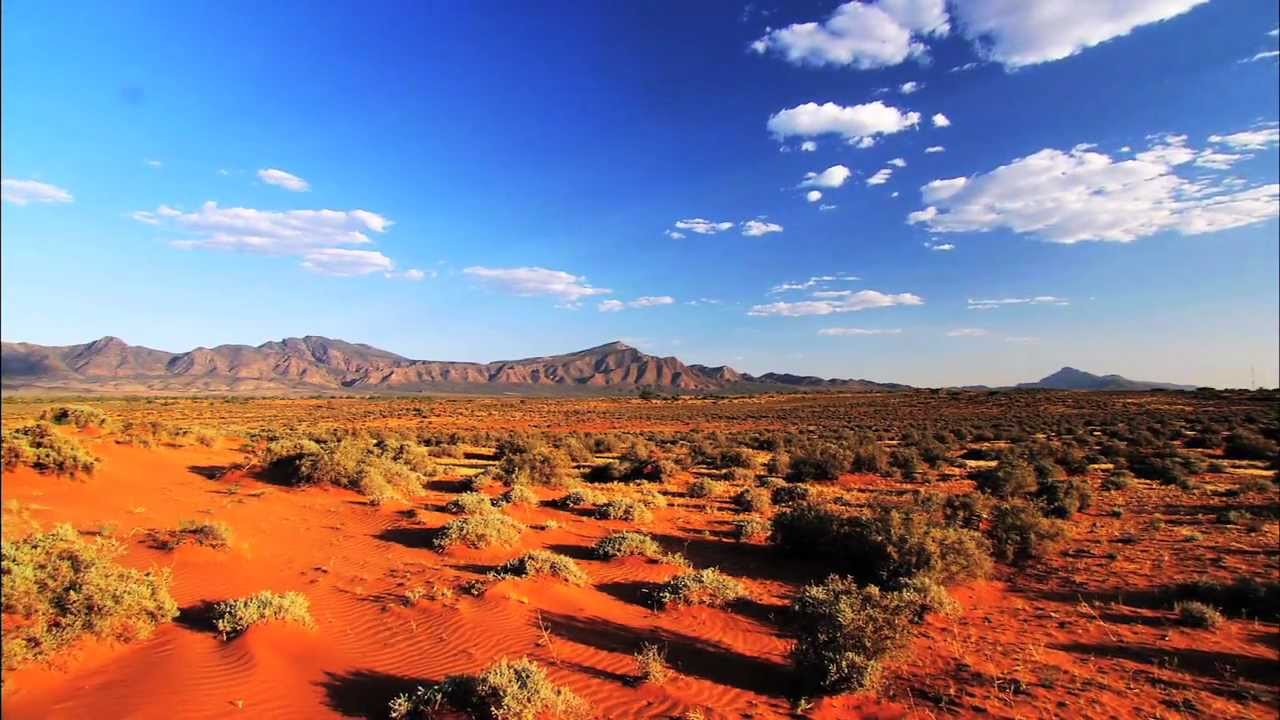 The Flinders Ranges Outback Of South Australia An