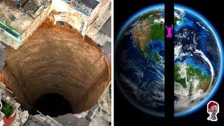 ЧТО БУДЕТ, ЕСЛИ ПРОСВЕРЛИТЬ ЗЕМЛЮ НАСКВОЗЬ? 15 невероятных фактов