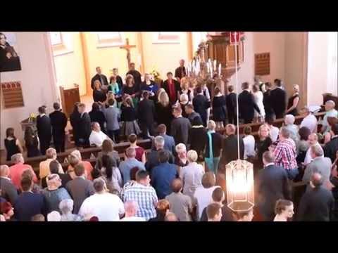 Konfirmation, 8.6.2014: Einzug in der Kirche