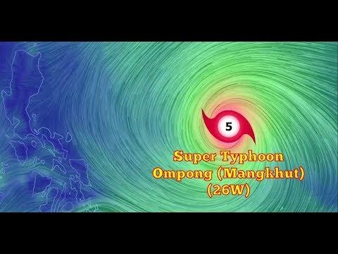 Weather Update- Bagyong Ompong (September 13, 2018) Super Typhoon Mangkhut