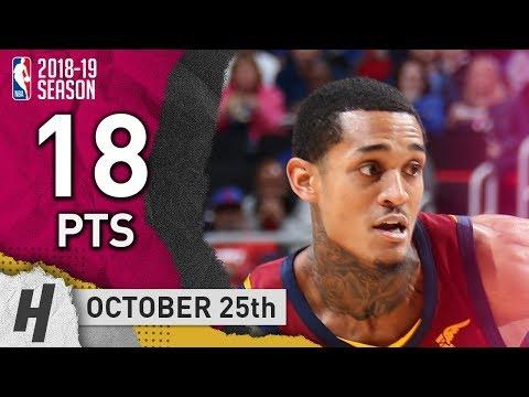 Jordan Clarkson Game Highlights vs. Pistons (VIDEO) 18 Points off the Bench