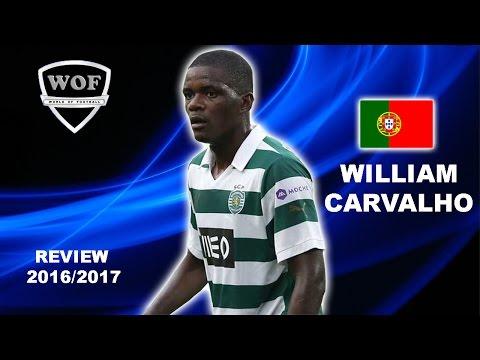 WILLIAM CARVALHO | Sporting | Skills | 2016/2017 (HD)