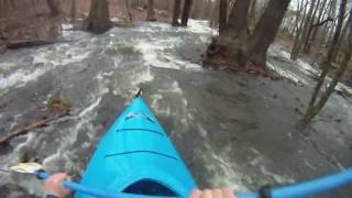 Backyard Kayaking with GoPro HD Camera