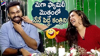 Vaisshnav Tej Hilarious Self Trolls | Mega Cousins Funny Interview | Uppena Telugu Movie | Niharika