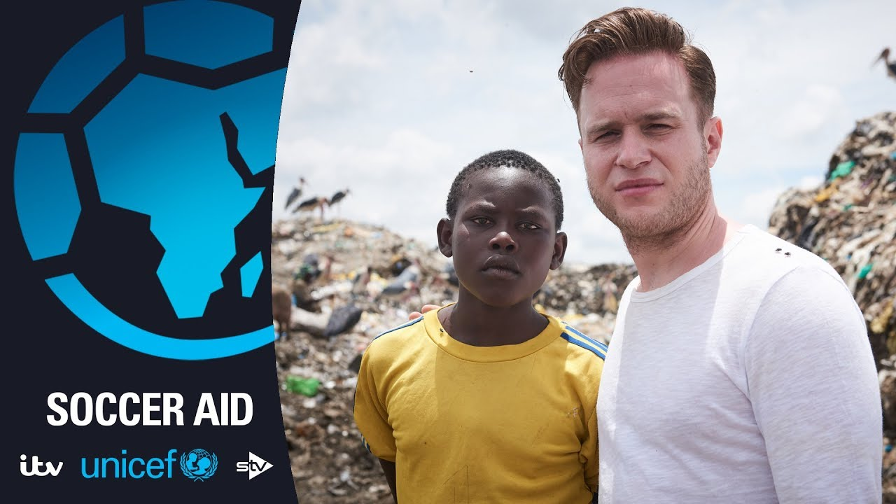 Olly Murs shows us how football can change children's lives | Soccer Aid for Unicef