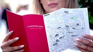 Concierge Maps - luxury city guides