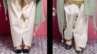 Salwar bottom design | Stylish Salwar pouncha design | Salwar mohri design