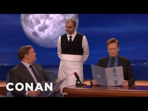 The Waiter Who Doesn't Write Anything Down Returns!  - CONAN on TBS