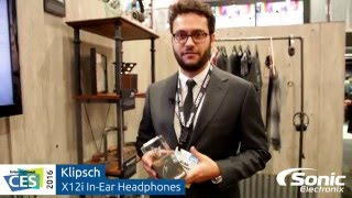 Video Klipsch X12i In-Ear Headphones | CES 2016 download MP3, 3GP, MP4, WEBM, AVI, FLV Juli 2018