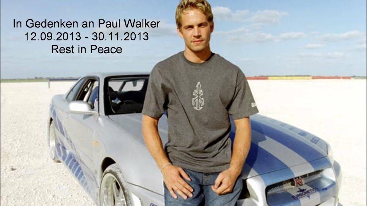 Rip Paul Walker Youtube