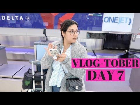 Flying Standby - You Have To Be Creative  |  VLOGTOBER Day 7, 2018