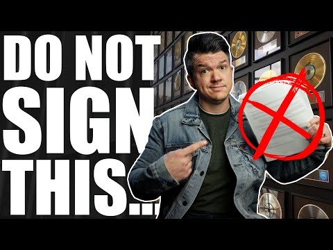 Why You Should NOT Sign A Record Deal In 2021 (TRIGGER WARNING!)