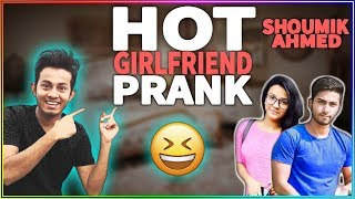 Hot girlfriend prank on Shoumik Ahmed   New video 2018   d knockers   ANIS   TITHI