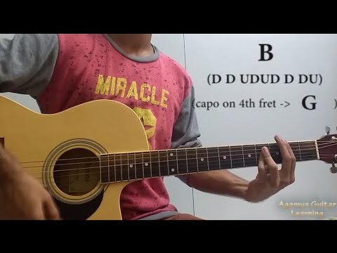 Tujhe Kitna Chahne Lage Guitar Chords Lesson Cover Strumming