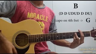 Tujhe Kitna Chahne Lage - Guitar Chords Lesson+Cover, Strumming Pattern, Progressions