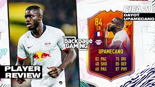 FIFA 21 | HEADLINERS UPAMECANO PLAYER REVIEW | Better than Varane!?