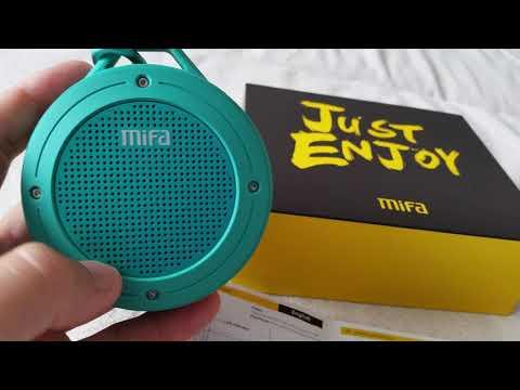 Mifa F10 защищенная блютус колонка с мощным 3D басом