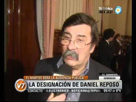 Visión Siete: La designación de Daniel Reposo