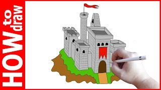 How to draw castle, Как нарисовать замок(INSTAGRAM: https://www.instagram.com/dmitrysyrman/ Я в ВКОНТАКТЕ: http://vk.com/syrman_d Группа в ВКОНТАКТЕ: http://vk.com/public59608073 I'm on ..., 2016-12-05T05:58:43.000Z)