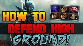 Dota 2 How to Defend High Ground