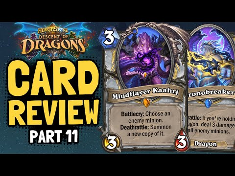 NEW PRIEST LEGENDARY! But Is It Good?? | Dragons Review #11 | Hearthstone