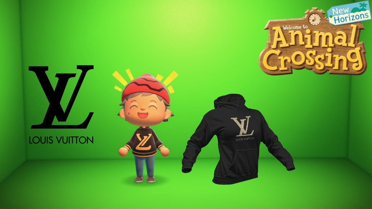 How To Make A Louis Vuitton Hoodie Animal Crossing New Horizons