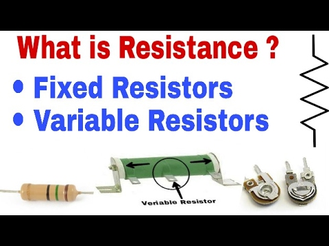 What is Resistance ? Fixed Resistors and Variable Resistors. Hindi (Technical Joshi)