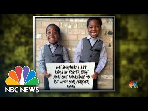 Ohio Woman Finalizes Adoptions Through Video Call Amid Coronavirus Pandemic | NBC Nightly News