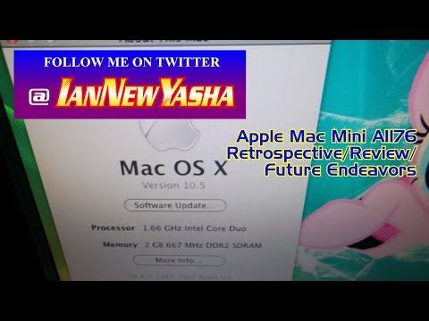 Apple Mac Mini A1176 retrospective - Ian New Yasha: The Final Act