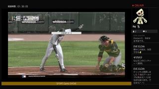 試合観戦PS4 MLBTHESHOW17 (6.23) OAK-CWS Full Game 試合シミュレーションしましたcsnsMLB
