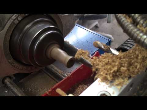 Installing A Leather Wrap On A Pool Cue Part 1 Doovi