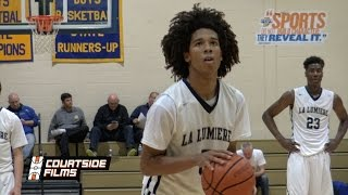 Tyger Campbell Drops Dimes In His La Lumiere Debut! 2019 High Major PG