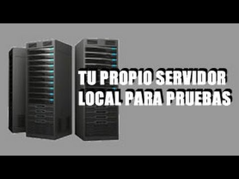 Como crear un servidor local en nuestro PC