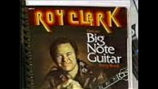 Roy Clark Big Note Guitar Book (Commercial Offer, 1980)