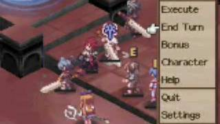 Disgaea DS Adell Battle
